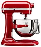 KitchenAid KL26M1XER Professional 6-Qt. Bowl-Lift Stand Mixer - Empire Red
