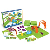 Build your maze, and then use the coding cards to create a step-by-step path for the Programmable Robot Mouse. Program the sequence of steps, and then watch the mouse race to find the cheese! This deluxe set includes 30 double-sided coding cards, 10 ...