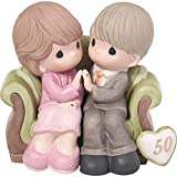 Precious Moments,  Through The Years - 50th Anniversary, Bisque Porcelain Figurine, 123021