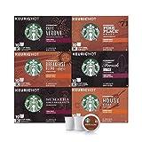 Starbucks Black Coffee K-Cup Variety Pack for Keurig Brewers, 10 Count ( Pack of 6 )