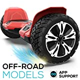 8.5 inch Warrior G2 Hoverboard Smart Self Balancing Scooter with Music Speaker and App-Enabled Hoverboard...
