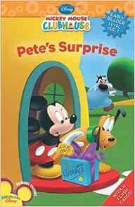 Pete S Surprise Disney Early Readers Ring Susan 9781423118275 Amazon Com Books