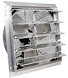 VES 24' Exhaust Shutter Fan, Wall Mount, 3 Speed