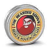 The Bearded Goon's Ridiculously Strong Beard and Handlebar Mustache Wax - 1oz (30ml)