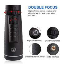 Duddy-cam-KL-DC-45711-USA-Duddy-Cam-Monocular-Telescope-BAK4-Prism-12x50-High-Power-HD-Vision-SingleHand-Focus-for-Bird-Watching-Hunting-Camping-2-Tripods-Lanyard-Black