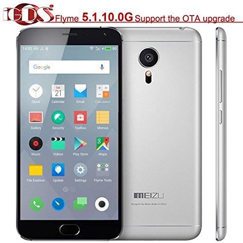 "Original Meizu MX5 Helio X10 Turbo 5.5"" 1920x1080 Screen 4G FDD LTE mTouch 2.0 Fingerprint ID OS 5.1.6.0G cell phone"