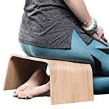 Valiai Strong Wooden Bench for Meditation, Tea Ceremony, Seiza, Praying and Healthier Sitting