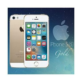 Original AppleiPhone Compatible Apple iPhone 5S – 64GB – iOS Gold (Unlocked) GPS WiFi 8MP 1080P Smartphone – Hermetic