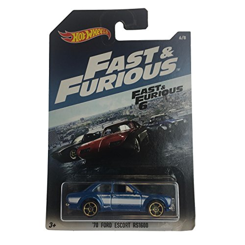 Hot Wheels 2017 FAST & FURIOUS 70 FORD ESCORT RS1600 RARE 6/8