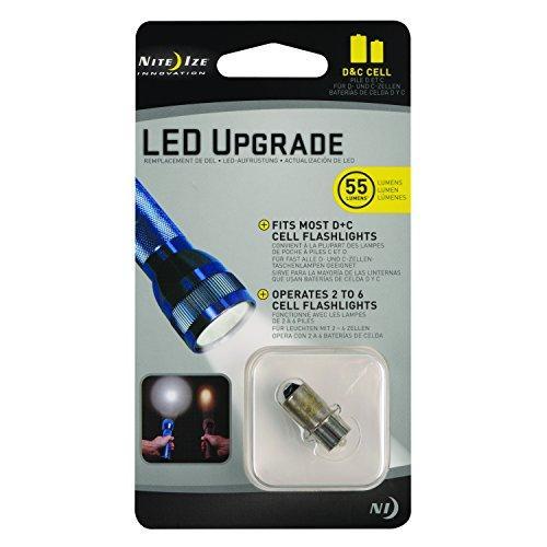 Nite Ize LED Upgrade Bulb for C/D Flashlights, 55 Lumen Bulb