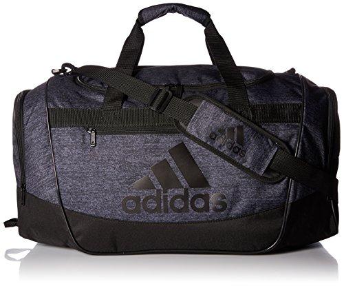 adidas Unisex Defender III Medium Duffel Black Jersey/Black One Size