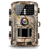 Campark Trail Game Camera 14MP 1080P Waterproof Wildlife Hunting Deer Scouting Cam Motion Activated Infrared Night Vision Home Surveillance