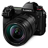 """Panasonic LUMIX S1 Full Frame Mirrorless Camera with 24.2MP MOS High Resolution Sensor, 24-105mm F4 L-Mount S Series Lens, 4K HDR Video and 3.2"""" LCD - DC-S1MK"""