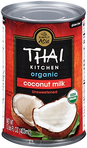 Thai Kitchen Organic Coconut Milk, 13.66 oz. (Pack of 6)