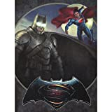 "Westland Giftware Batman vs. Superman Battery Operated Lighted Canvas Wall Art with On/Off Switch, 12"" x 16"""