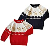 Product review for DaySeventh Toddler Unisex Girl Boy Button-up Coat Cute Deer Christmas Sweater Tops Knitting Sweater