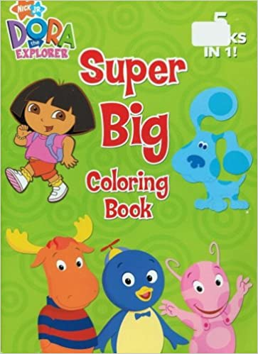 Nick Jr Super Big Coloring Book Nickelodeon Amazon Com Books
