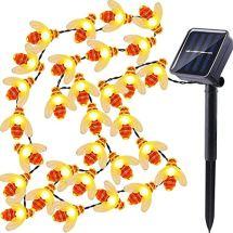 dephen-LED-String-Lights-30-LED-Honey-Bee-Shape-20ft-Solar-Powered-Fairy-Lights-Waterproof-LED-Strand-Lights-for-Garden-Christmas-Wedding-Party-Outdoor-Lighting-Decorations
