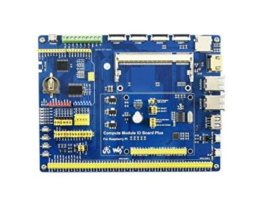 Waveshare-Compute-Module-IO-Board-Plus-Development-Composite-Breakout-Board-for-Developing-with-Raspberry-Pi-CM3-CM3L-Various-Common-Use-Components
