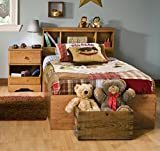 Product review for South Shore Amesbury Kids Twin Wood Captain's Bed 3 Piece Bedroom Set in Country Pine