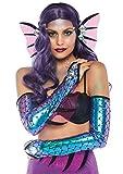 Leg Avenue Women's 2 Pc Mermaid Costume Kit, Blue, One Size