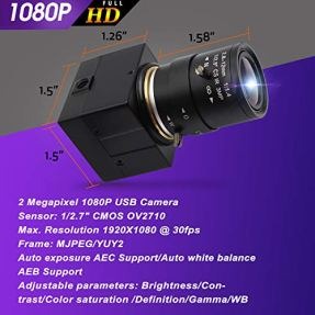 28-12mm-Varifocal-Lens-USB-Camera-High-fps-VGA-100fps-USB-with-Camera-1080P-USB-Webcamera-CS-Mount-2MP-HD-Web-Camera-with-CMOS-OV2710-Sensor-Web-Cams-UVC-for-Linux-Windows-Web-Conference-Camera