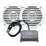 JENSEN 5.25' White Dual Cone Waterproof Speakers