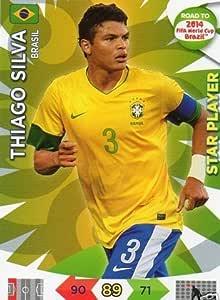 Adrenalyn XL Road To 2014 World Cup Brazil #16 Thiago