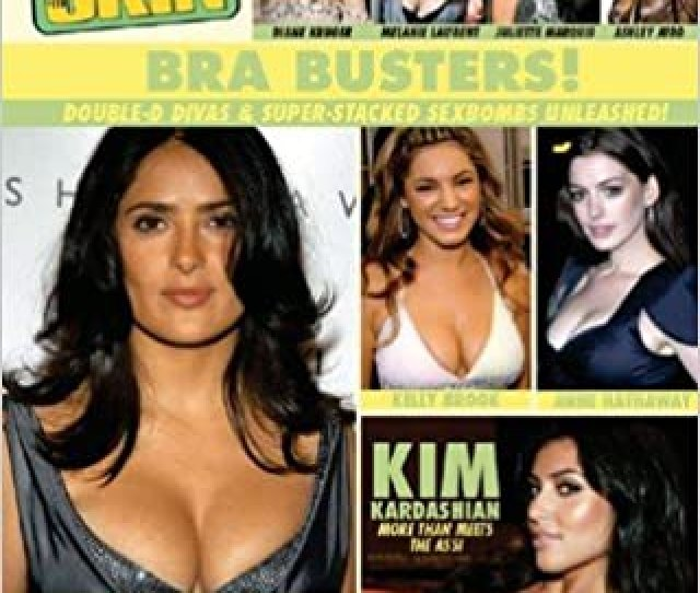 Celebrity Skin 173 Bra Busters Double D Divas Super Stacked Sexbombs Unleashed Single Issue Magazine 2009