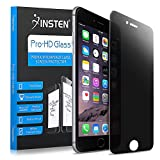 Insten [Tempered Glass] Privacy Anti-Scratch LCD Screen Protector Compatible with iPhone 8 Plus / 7 Plus (5.5'), Bubble Free HD Film No Rainbow Effect Shield Guard