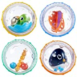 Munchkin Float and Play Bubbles Bath Toy, 4 Count
