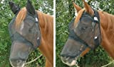 Product review for Cashel Quiet Ride Standard Fly Mask With Long Nose - Size: Horse
