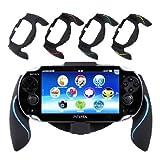 Aweek Bracket Handgrip Handle Grip Case for Playstation Vita 1000 PSVita PS Vita - Blue
