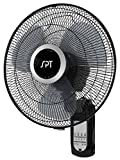 SPT Wall Mount 16' Fan with Remote Control