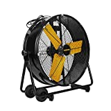 Master PROFESSIONAL Master MAC-24DCT-EP, Heavy Duty, High Velocity 24' tiltable barrel fan, Black
