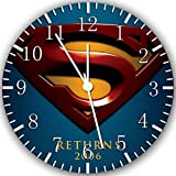 """New Superman Wall Clock 10"""" Will Be Nice Gift and Room Wall Decor Z92"""