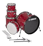 Yamaha Rydeen 5pc Shell Pack with 22' Bass Drum, Hot Red
