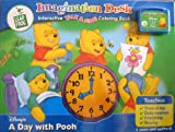 Leap Frog - Imagination Desk - Disney - A Day With POOH - Cartridge + Interactive Talk & sing Coloring Book - 3 Years and Up/PRE K