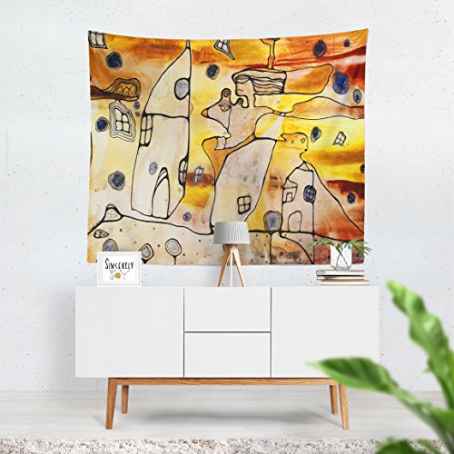 Oshun wall hanging tapestry Orisha art home decor accessories