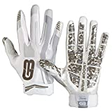 Grip Boost Stealth Football Gloves Pro Elite (White, XX-Large)