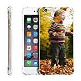 Personalized Customized Phone Case Cover for Apple iPhone 5/5s/6/6s Plus/7/7 Plus, Unique DIY Custom Picture Photo Ultra Thin Soft Rubber Silicone Gel TPU Bumper Clear Protective Case Cover XMAS Gifts