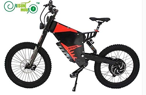 Risun Motor Exclusive Customized FC-1 Stealth Bomber Electrice Bicycle/Mountain Ebike