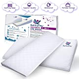 3-in-1 Universal Crib Wedge - Elevated Sleeping Pillow Helps Babies with Acid Reflux, Congestion, Colic - Adjustable Cushion Supports Healthy Sleep and Eating + Carrying Case by Did and Me