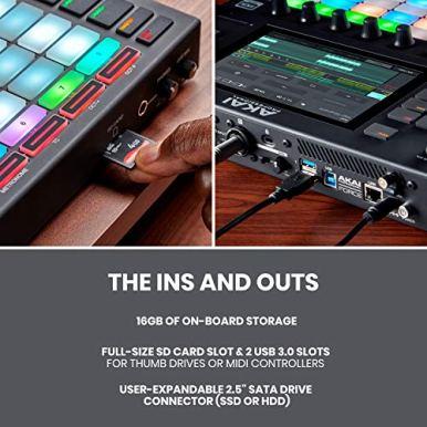 Akai-Professional-Force-Standalone-Music-Production-DJ-Performance-System