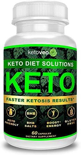 Keto Pills That Work Fast for Women & Men - Keto BHB Capsules Salts Exogenous Ketones Supplement - Keto Diet Pills Energy Boost, Raspberry Ketones, No Caffeine - Get in Ketosis for Ketogenic Diet 3