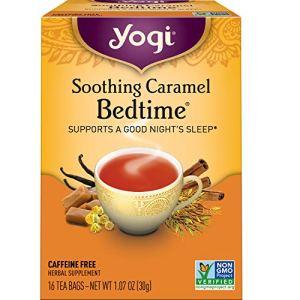 Yogi Tea – Soothing Caramel Bedtime (6 Pack) – Supports a Good Night's Sleep – 96 Tea Bags