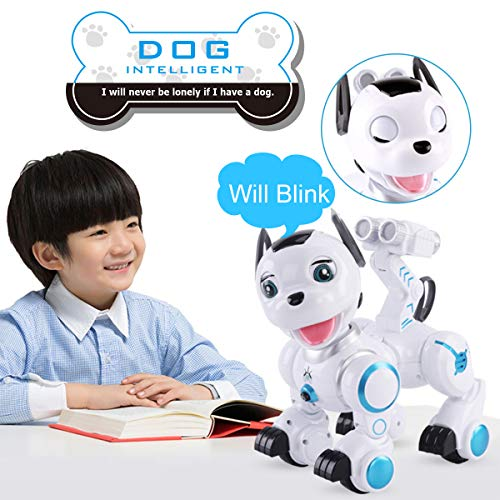 fisca-Remote-Control-Robotic-Dog-RC-Interactive-Intelligent-Walking-Dancing-Programmable-Robot-Puppy-Toys-Electronic-Pets-with-Light-and-Sound-for-Kids-Boys-Girls-Age-6-7-8-9-10-and-Up-Year-Old