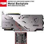 MSI Gaming GeForce RTX 2080 Super 8GB GDRR6 256-Bit HDMI/DP Nvlink Tri-Frozr Turing Architecture Overclocked Graphics…