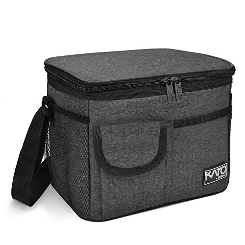 Insulated Lunch Bag for Women Men, Leakproof Thermal Reusable Lunch Box for Adult & Kids...