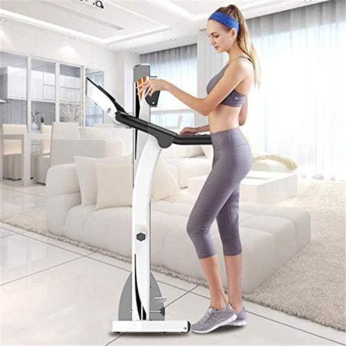 YFFSS Running Machines Intelligent Digital Folding Treadmill, Extended Safety Handrail, 5-Layer Safety Skid Track Portable Treadmill Running Jogging Gym Exercise Fitness 2